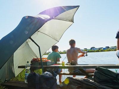 8ba202165 Billig camping lige ved Vesterhavet